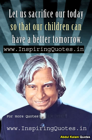 Abdul Kalam Quotes on Success images wallpapers