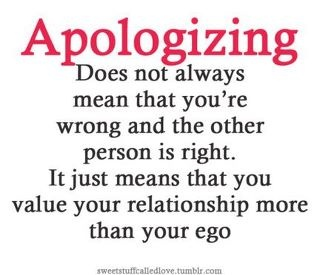 Apologizing Quotes Pictures Thoughts Suvichar