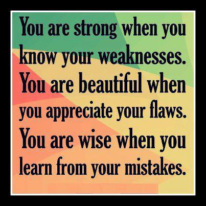 Learn from your mistake wisdom quotes