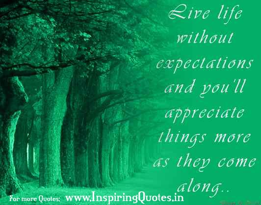 Life Without Expectations Quotes Thoughts Suvichar Images