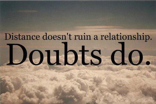 Relationship Trust Doubts quotes thoughts images