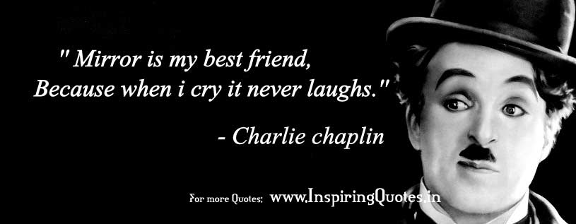 charlie chaplin Suvichar thoughts images