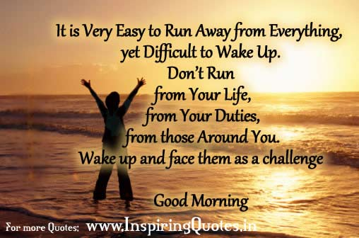 Inspirational Good Morning Thoughts and Quotes
