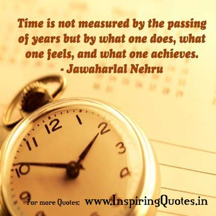 Jawaharlal Nehru Quotes on Time Pictures Images Wallpapers