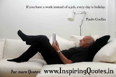 Paulo Coelho Quotes on Work Thoughts Pictures Images Wallpapers