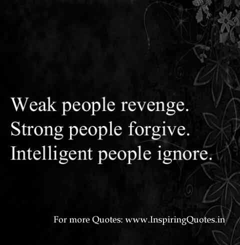 Revenge, Forgive, Ignore Quotes, Thoughts Images Wallpapers
