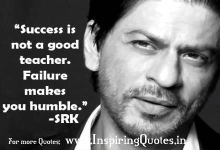 Shahrukh Khan Inspirational Thoughts Images Wallpapers