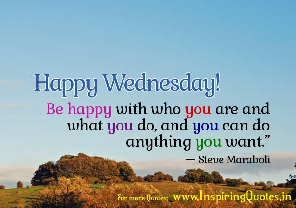 Wishing you a Happy Wednesday Thoughts Images Wallpapers Photos