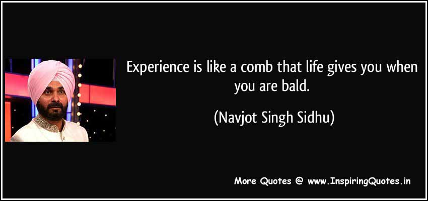 Navjot Singh Sidhu Quotes, Inspirational Quotations and Thoughts Images Wallpapers Pictures