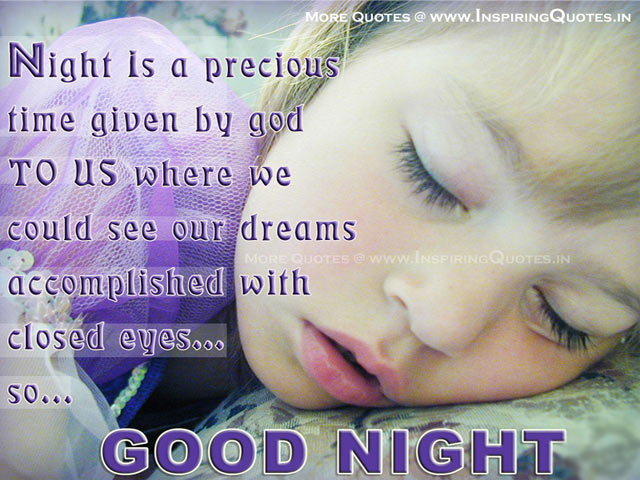 Good Night Quotes, Goodnight Quotes, Good Night SMS Quotes Picture Images Wallpapers Photos