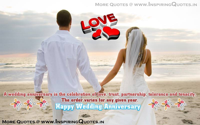 Happy Anniversary Quotes Images Wallpapers, Wedding, Marriage Anniversary Thoughts, Sayings, Messages, Wishes