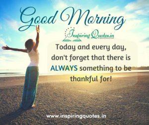 Good Morning - Thankful Image