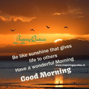 Have a Wonderful Morning Greetings