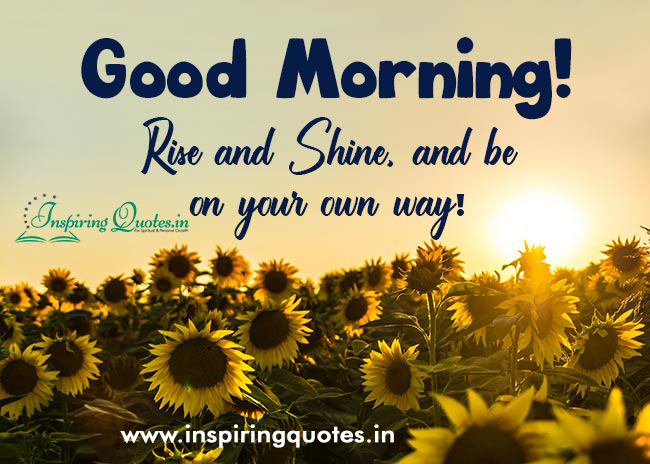 Positive Good Morning Messages